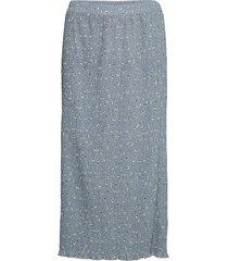 bxilna skirt lång kjol blå b.young