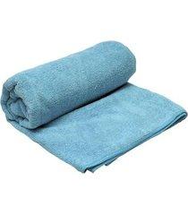 toalha de microfibra azteq soft ultra compacta 75 x 135 cm