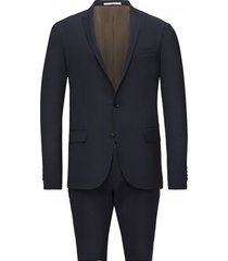 davidsen-ravn kostym blå bertoni