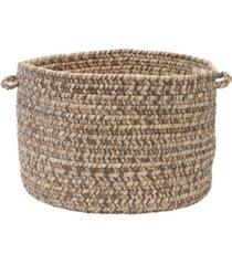 colonial mills corsica braided storage basket