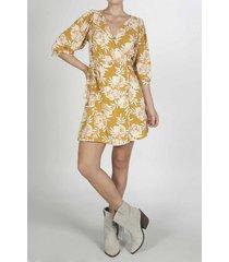 vestido para mujer tennis, corto y estampado de flores
