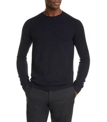 men's bottega veneta core cashmere pullover sweater, size 54 eu - blue