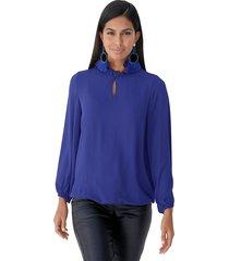 blouse amy vermont royal blue