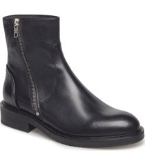 boots 813102 shoes boots ankle boots ankle boot - flat svart billi bi