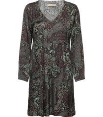 amélie dress kort klänning grå odd molly