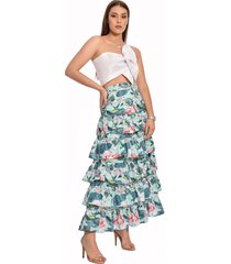 falda multicolor primia laguna