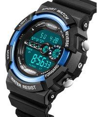 reloj deportivo digital militar sanda 320 hombre azul