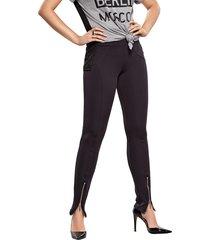 legging modisch skinny fit neoprene preto