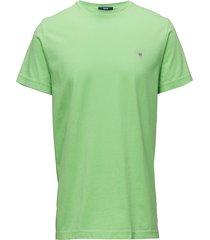 original ss t-shirt t-shirts short-sleeved grön gant