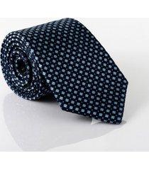 gravata isla galerias jacquard 1200 fios cor azul marinho