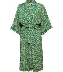 amapola liberte kimono morgonrock grön becksöndergaard