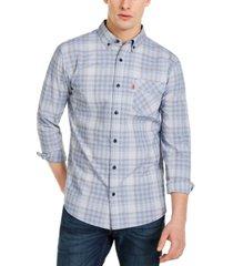 levi's men's stonewall plaid shirt