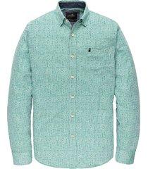 overhemd print groen