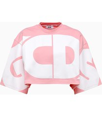 gcds crop t-shirt cc94w021001
