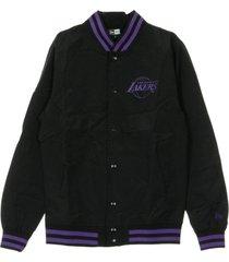 nba team apparel pop logo varsity loslak jacket