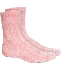 charter club women's super soft chenille butter crew socks, created for macy's