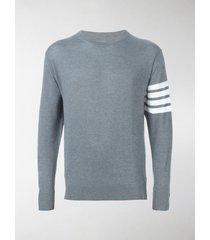 thom browne 4-bar merino pullover