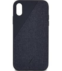 clic canvas iphone xr case - black