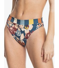 quiksilver womens reversible high waist bikini bottoms