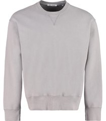 our legacy base sweat cotton crew-neck sweatshirt