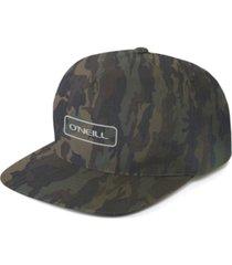 o'neill men's hybrid stretch camo snapback hat