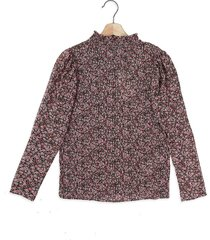 blusa rosa-negro-verde mng