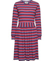 super stripe driella jurk knielengte multi/patroon mads nørgaard