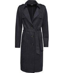 cappotto in similpelle scamosciata (nero) - bodyflirt