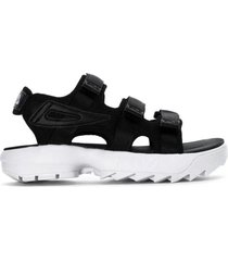 sandalia negra fila disruptor