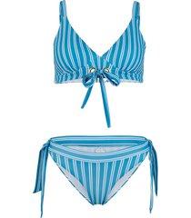 bikini a triangolo (set 2 pezzi) (blu) - bodyflirt