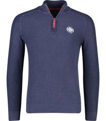 pullover donkerblauw nza percy