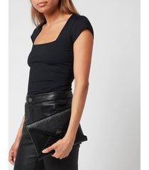 vivienne westwood women's bella pouch bag - black