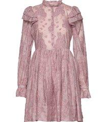 kimsa korte jurk roze custommade