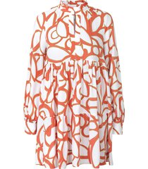 jasmine dress in abstract