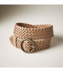 women's inner circle woven belt