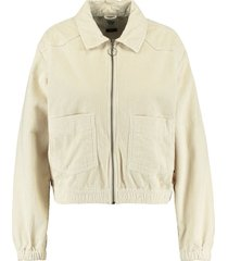 america today trucker jacket hailey beige