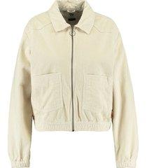 america today trucker jacket hailey beige