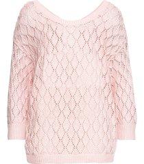 maglione traforato (rosa) - bodyflirt