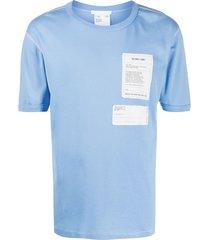 helmut lang base layer t-shirt - blue