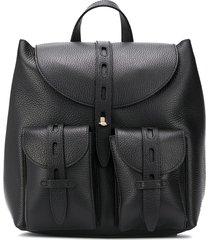 furla cargo pocket backpack - black