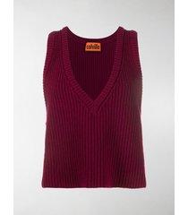 colville chunky-knit v-neck vest