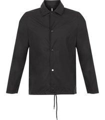 rains black coach jacket 1245-01
