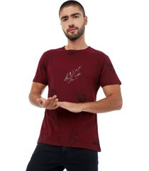 camiseta vinotinto manga corta lec lee