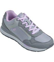 zapatos jogger aeroflex gris mf8934