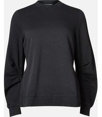 ganni women's isoli sweatshirt - phantom - l