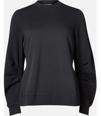 ganni women's isoli sweatshirt - phantom - m