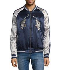 tiger eagle bomber jacket