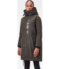 g-star d17630-a281-995 hooded padded fishtail parka