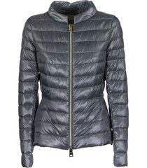 herno down jacket and technical taffeta