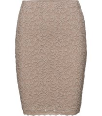 skirt kort kjol rosa rosemunde